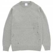 DAMAGED COTTON KNIT