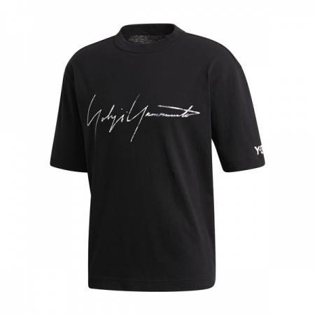 M DISTRESSED SIGNATURE SS TEE