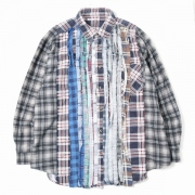 Flannel Shirt - Wide 7 Ribbon Shirt 1