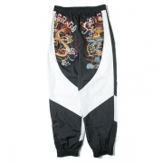 BREAK UP EMBROIDERY TRACK PANT