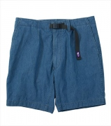 Indigo Chambray Mountain Field Shorts