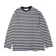 WIDE BORDER L/S TEE