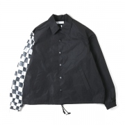 PRINTED SLEEVE COACH JACKET