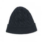 CABLE KNIT CAP(C/L)