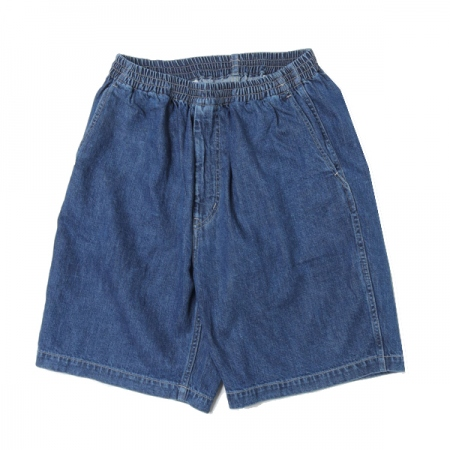 Denim Baggy Shorts FADE