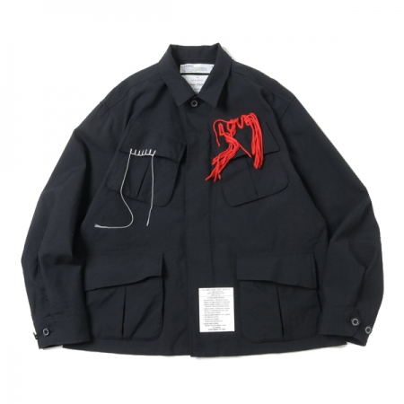 Wool Ripstop Fatigue Jacket
