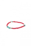 Catchy Beads Bracelet&Anklet - Red