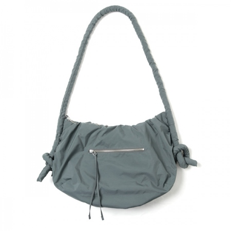 NYLON TAFFETA HALF MOON BAG