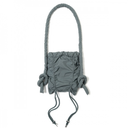 NYLON TAFFETA SHIRRED BAG