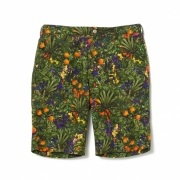 TROPICAL PATTERN PRINTED SHORT PANTS