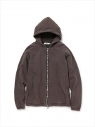 COACH FULL ZIP PARKA COTTON SWEAT OVERDYED