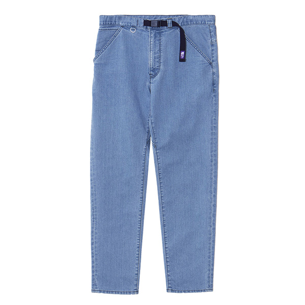 Webbing Belt Denim Pants