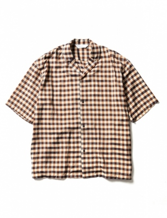 BLOCK CHECK H/S SHIRT