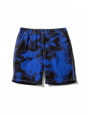 NYLON SHORTS(BLACK×BLUE)