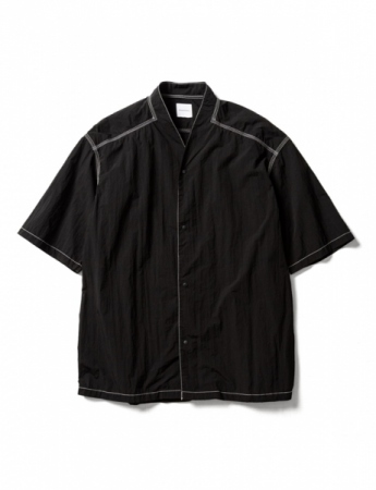NYLON WA-NECK H/S SHIRT