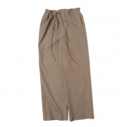 WASHED FINX TWILL EASY WIDE PANTS