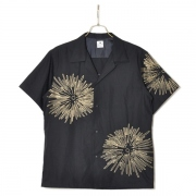 FIREWORKS OPEN COLLAR H/S SHIRT