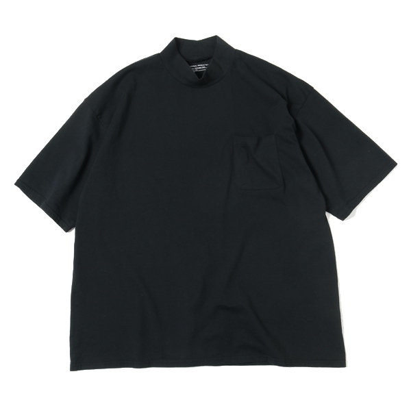 HEAVY WEIGHT S/S MOCK NECK T-SHIRT