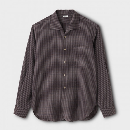 SEERSUCKER GINGHAM LS SHIRT