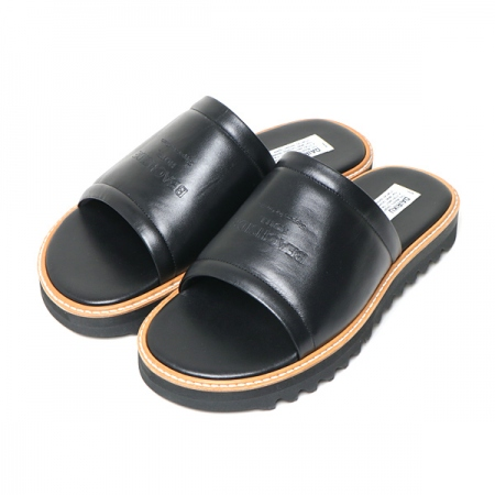 Slipper For Guests Leather Sandal