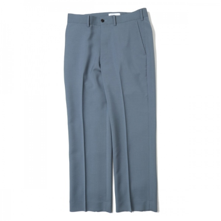 STRAIGHT FIT TROUSERS WOOL MOHAIR TROPICAL