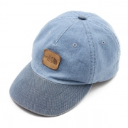 Broken Twill Denim Field Cap