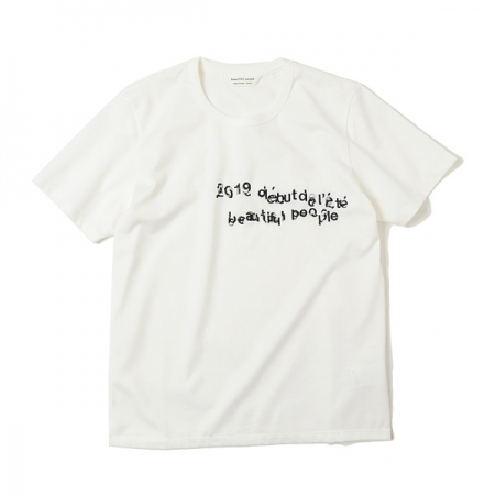 bp×Nukeme embroidery kids T