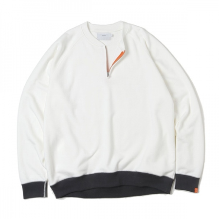 LOOPWHEELER for GP Half Zip Sweat