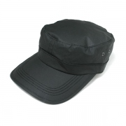 LONGBRIM WORK CAP(BLACK COATING)