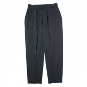 WIDE TAPERED SLACKS(WOOL GABARDINE)