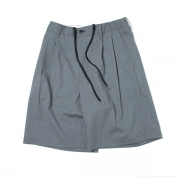 2-TUCK SLACKS SHORTS