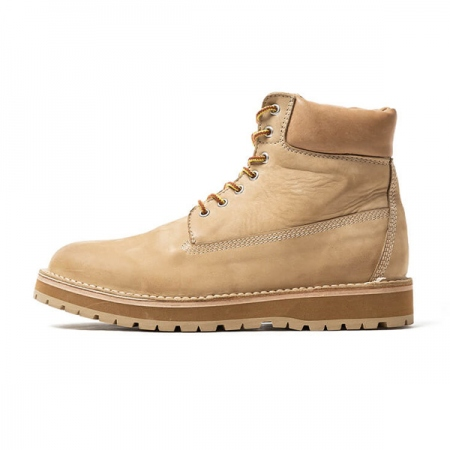 WORKER LACE UP BOOTS COW LEATHER