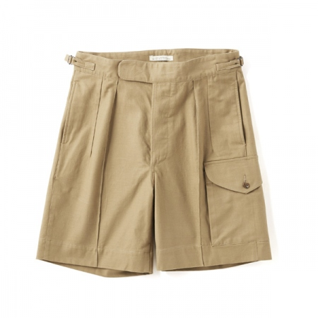SIDE BUCKLE GRUKHA SHORTS