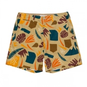 LEAF PATTERNED SHORT