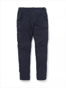 TROOPER TROUSERS RELAX FIT COTTON TWILL OVERDYED