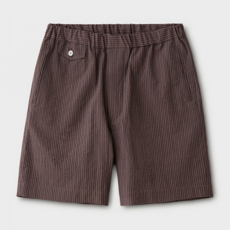 SEERSUCKER STRIPE EASY SHORTS