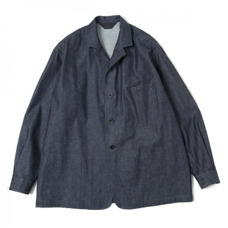 CUFFED JACKET(INDIGO)