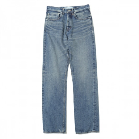 Vintage Washed Slim Denim Pants
