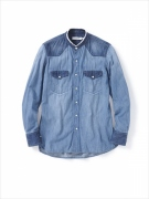 RANCHER SHIRT COTTON 6.5oz DENIM VW