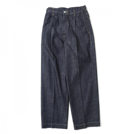 1TUCK JEANS 10oz ORGANIC COTTON DENIM