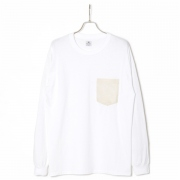 WASHI POCKET L/S TEE