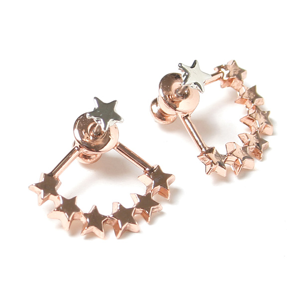 stardust pierced earrings
