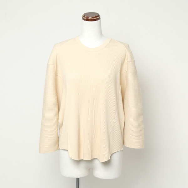 BROAD RIB RAGLAN VOLUME TOP