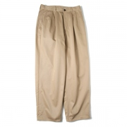 Chino Two Tuck Pants
