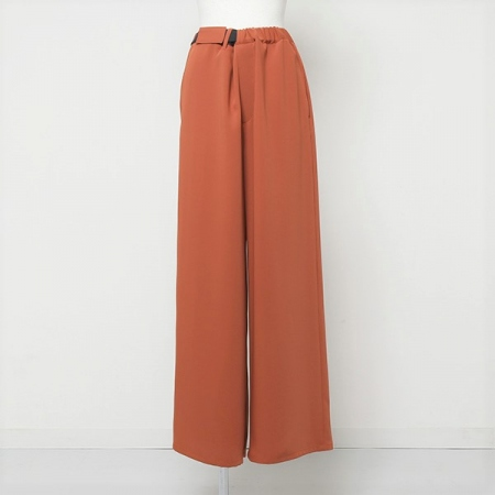 Satin Wide Cook Pants