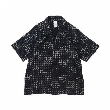 FREE EDGE SHIRT S/S LATTICE