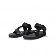 Suede Leather Piping Strap Sandal by SUICOKE