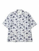 OLD NANPOU NOTCHED COLLAR H/S SHIRT