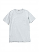 DWELLER TEE S/S COTTON JERSEY OVERDYED