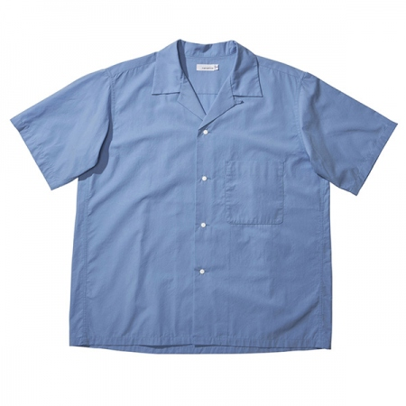 Open Collar Wind H/S Shirt